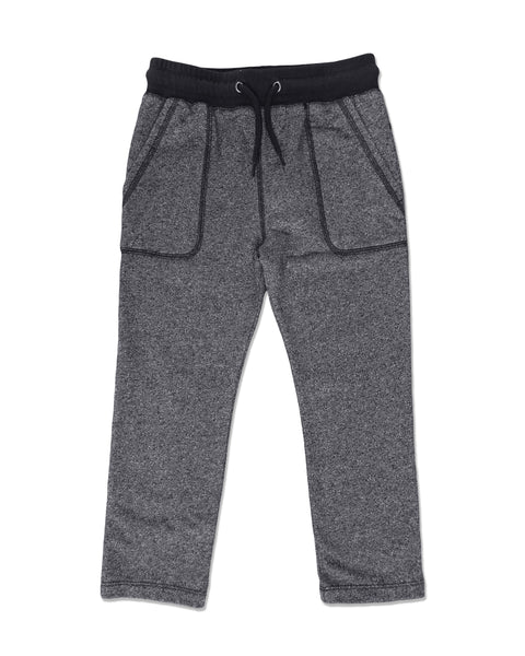 Baby and Boy Charcoal Gray Jogger Pants,Bottoms,Me and Henry-The Little Clothing Company
