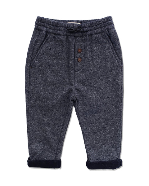 Boy's Navy Jogger Pants,Bottoms,Me and Henry-The Little Clothing Company