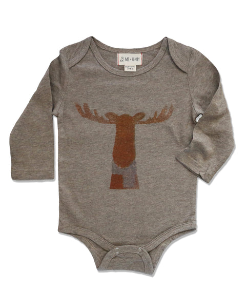 Moose Onesie,,Me and Henry-The Little Clothing Company