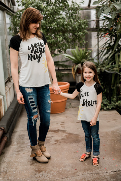 You Are My Sunshine for Mom,Shirts,PS Kate-The Little Clothing Company