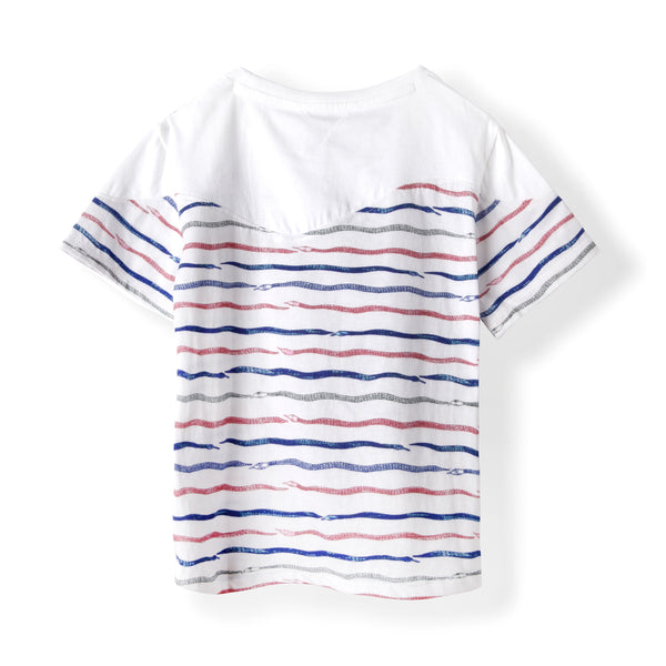 Slither Snake Stripe Boys Graphic Tee