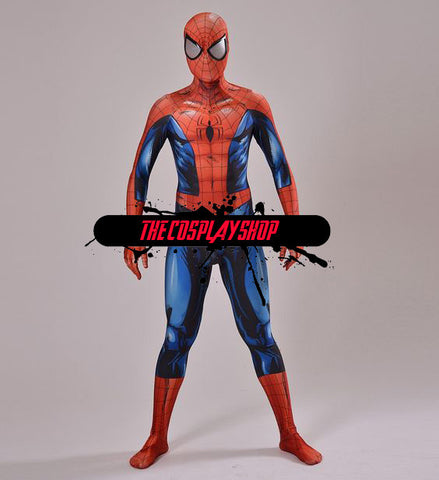 Ultimate Spider-Man Comic Design Cosplay Costume