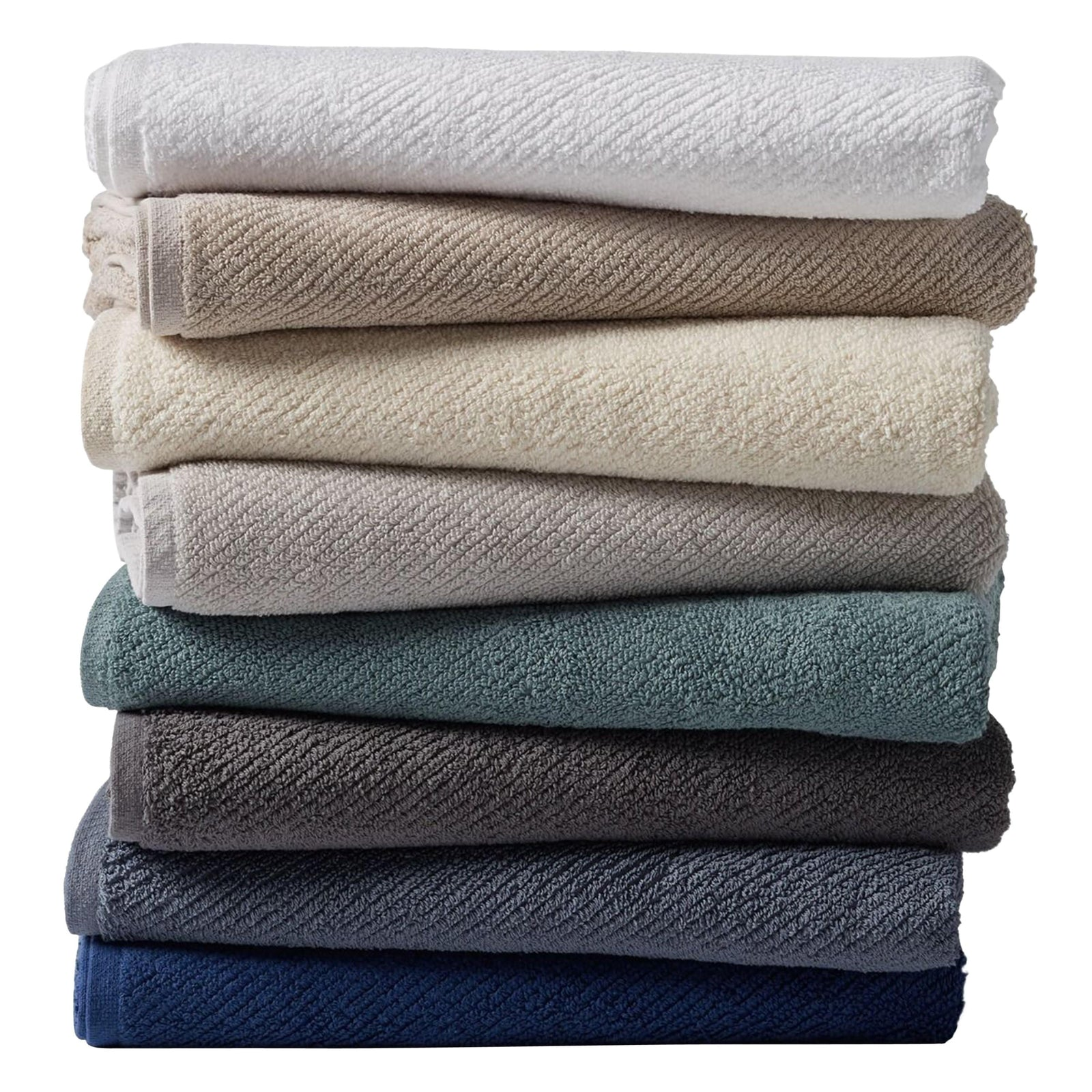 Coyuchi Bath Air Weight Organic Towels