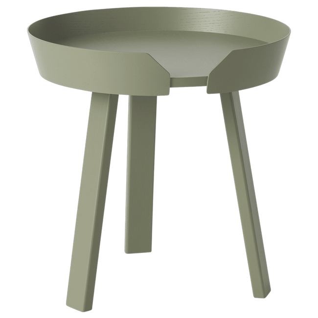 Muuto Furniture Dusty Green Around Side Table - Small