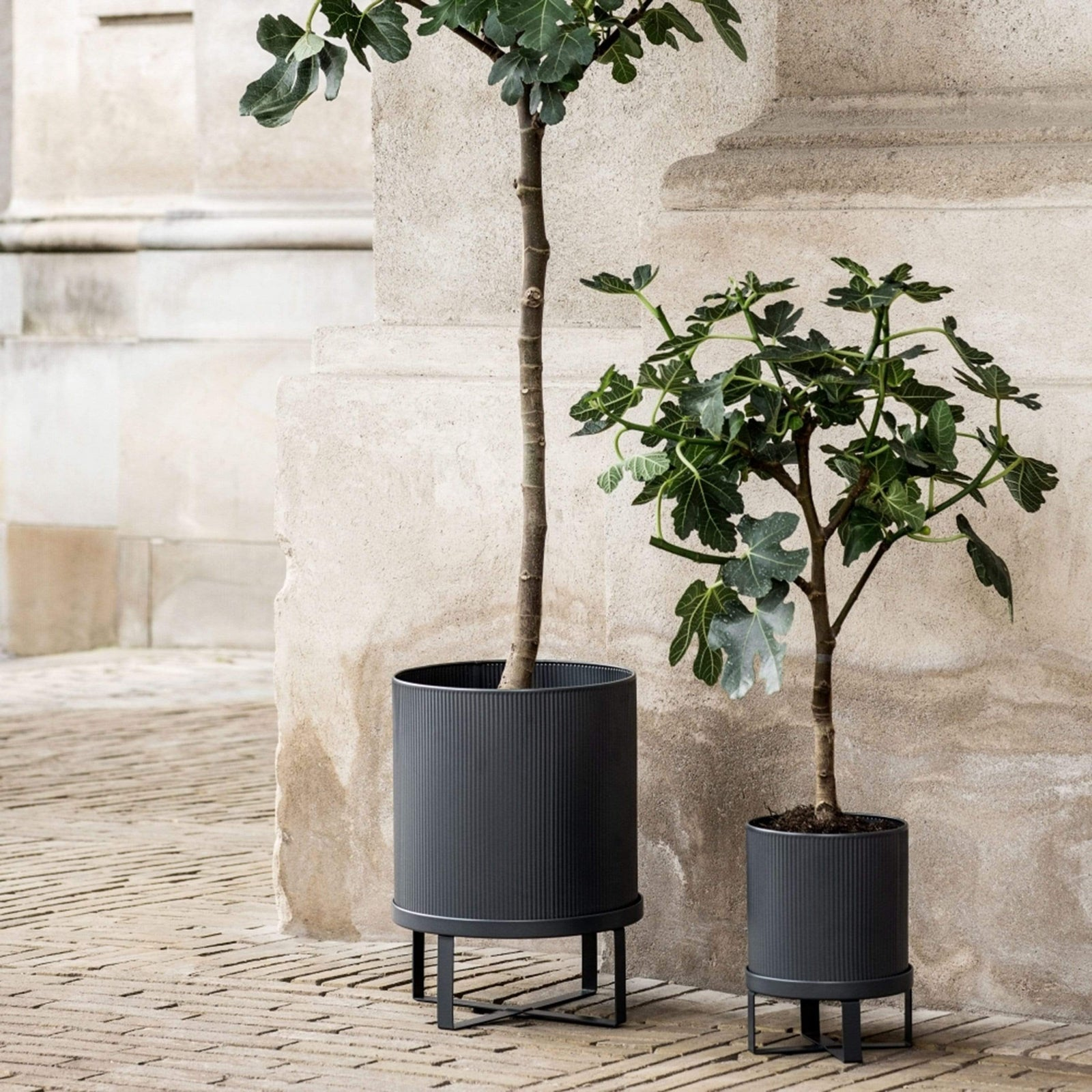 Ferm Living Garden Black Bau Pot, Small