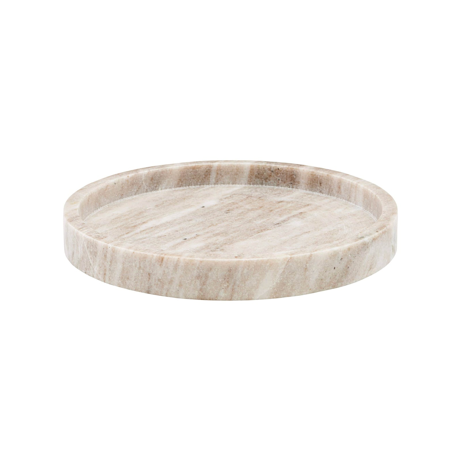 Meraki Kitchenware Round Beige Tray