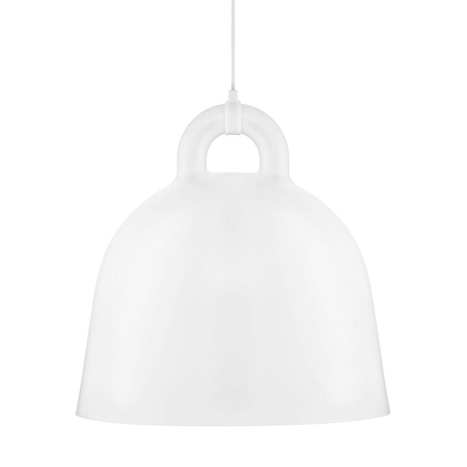 Norman Copenhagen Lighting White / Large Bell Lamp
