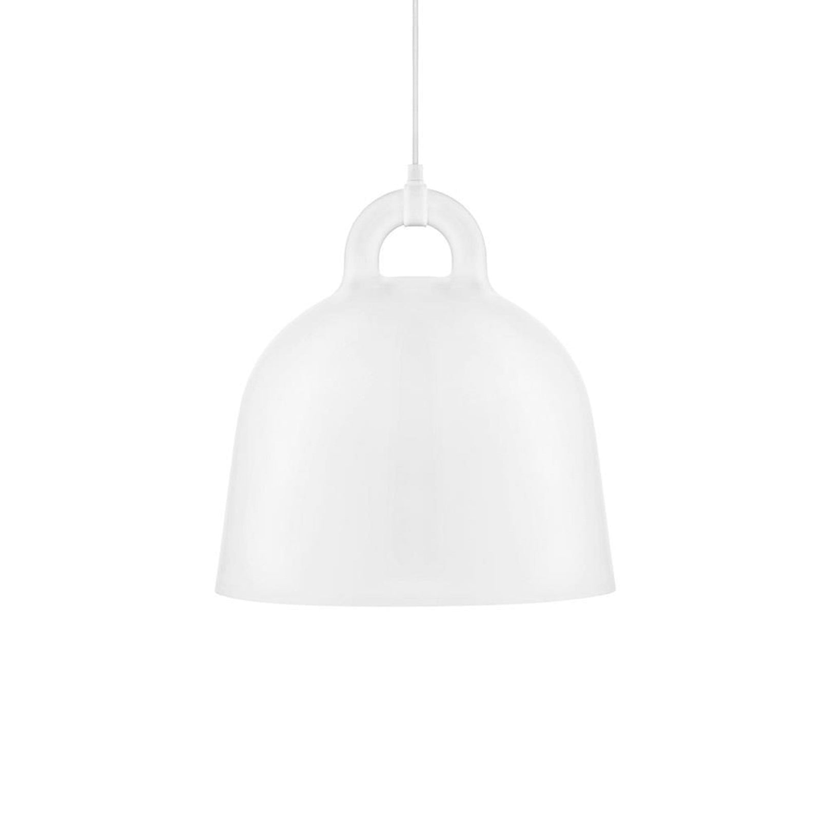 Norman Copenhagen Lighting White / Medium Bell Lamp