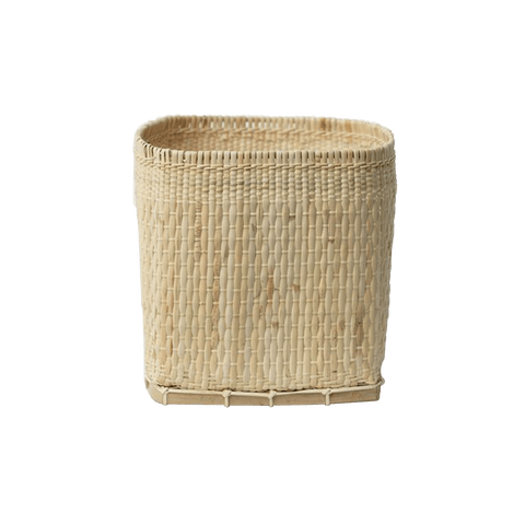 Woven Floor Basket with Handles