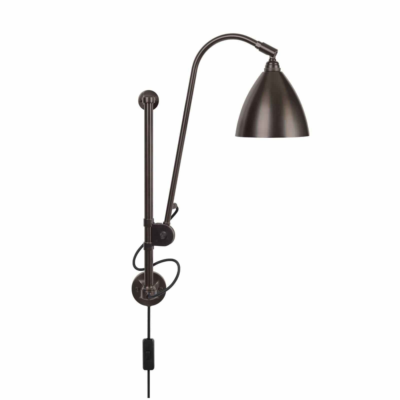 Gubi Lighting Black Brass / Black Brass BL5 Wall Lamp
