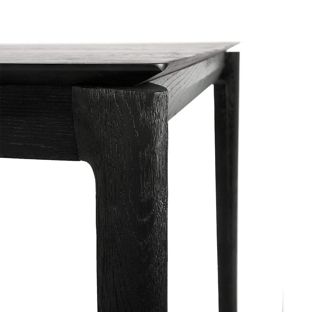 Ethnicraft Furniture Black Oak Bok Dining Table