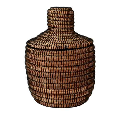 Bidayuh Striped Storage Basket