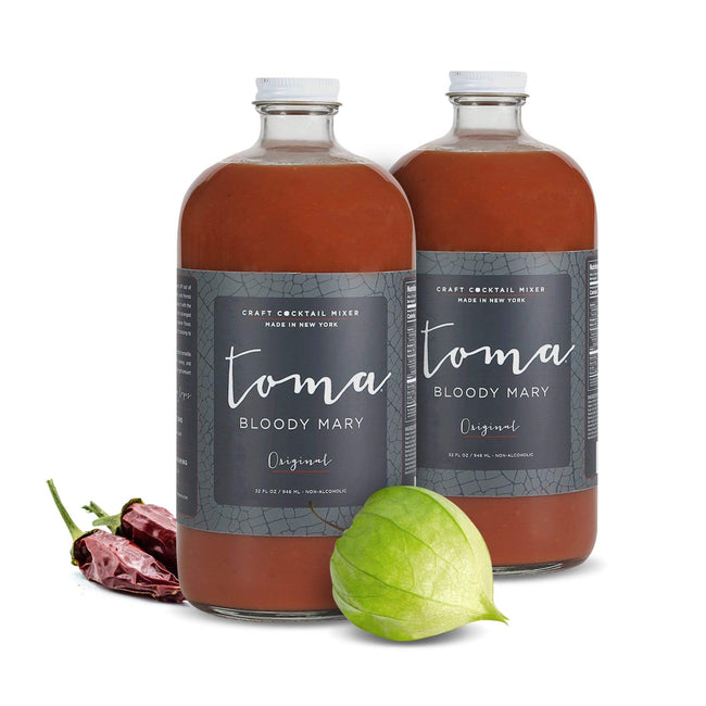 Toma Bloody Mary - Craft Cocktail Mixers Food Bloody Mary Mixer, Original