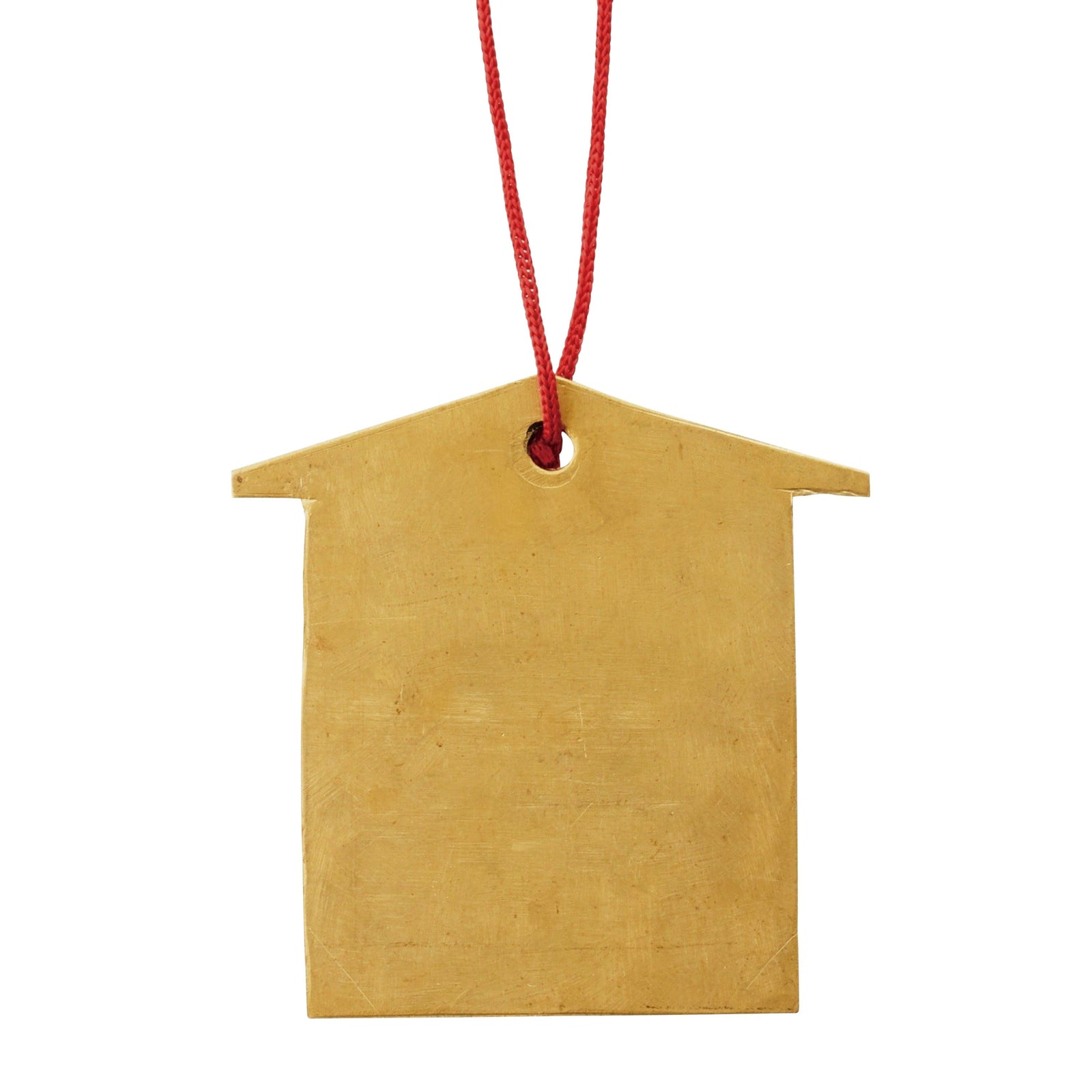 Fog Linen Work Holiday Brass House Ornament