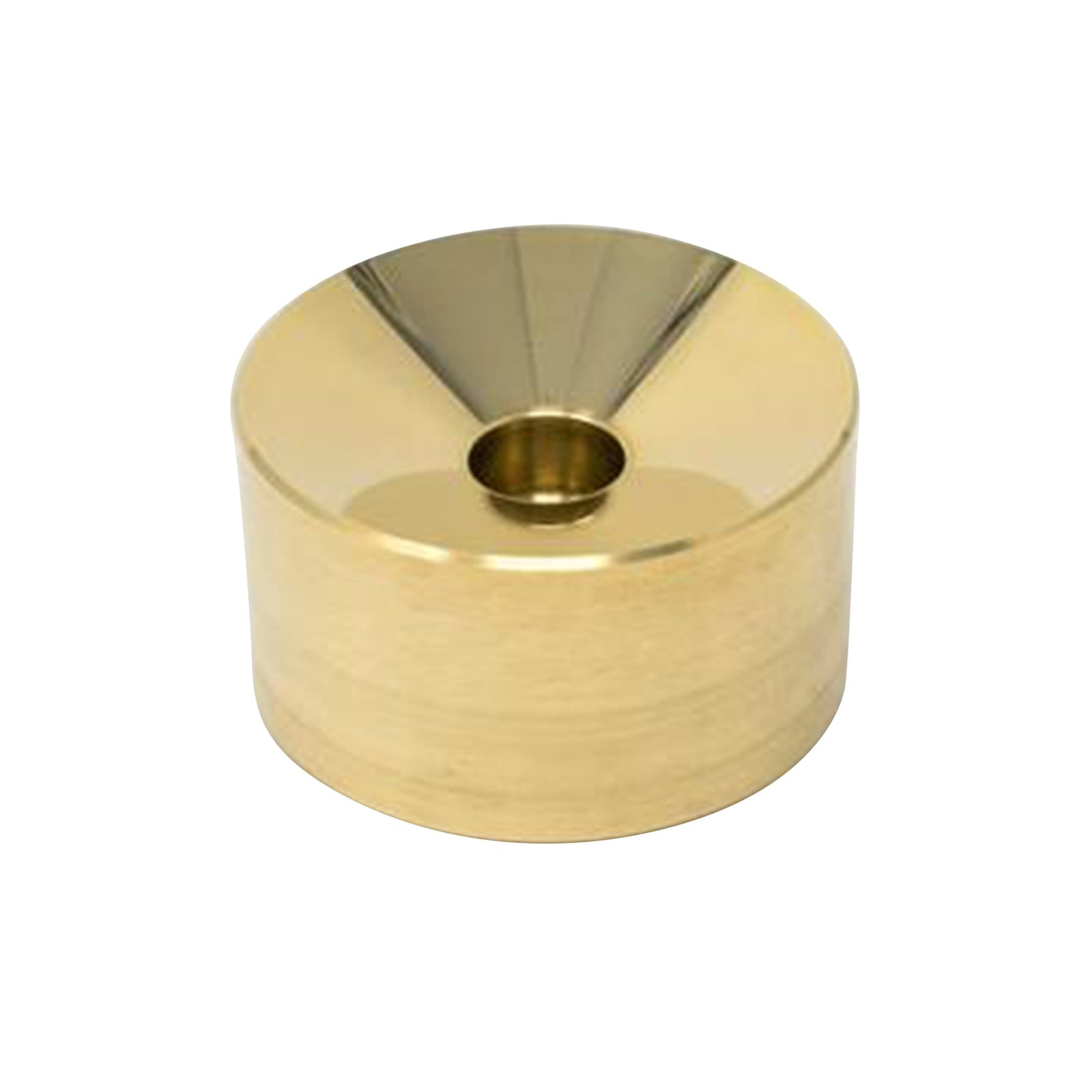 HEWN Candle Brass Incense Burner