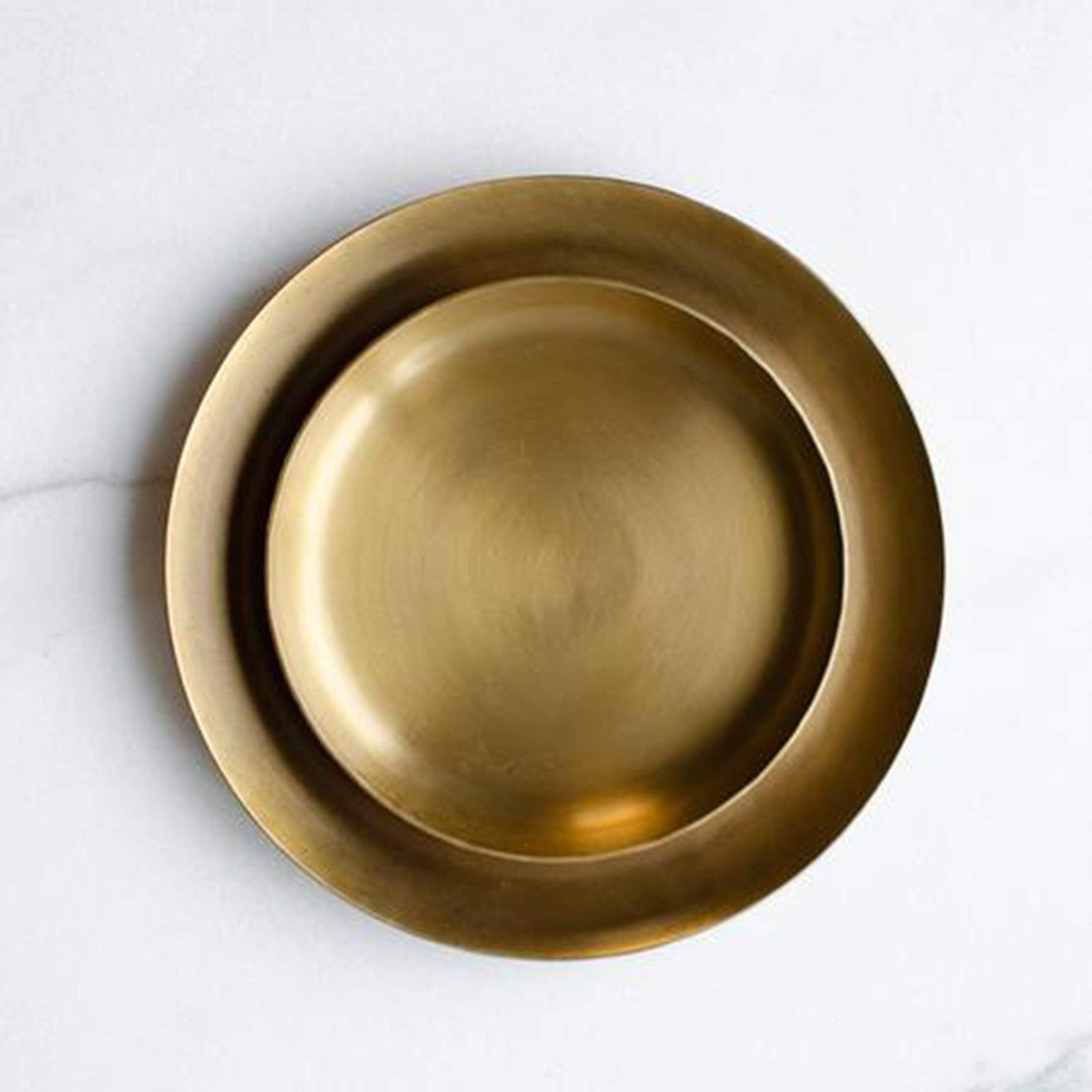 Fog Linen Work Accessory Brass Serving Tray