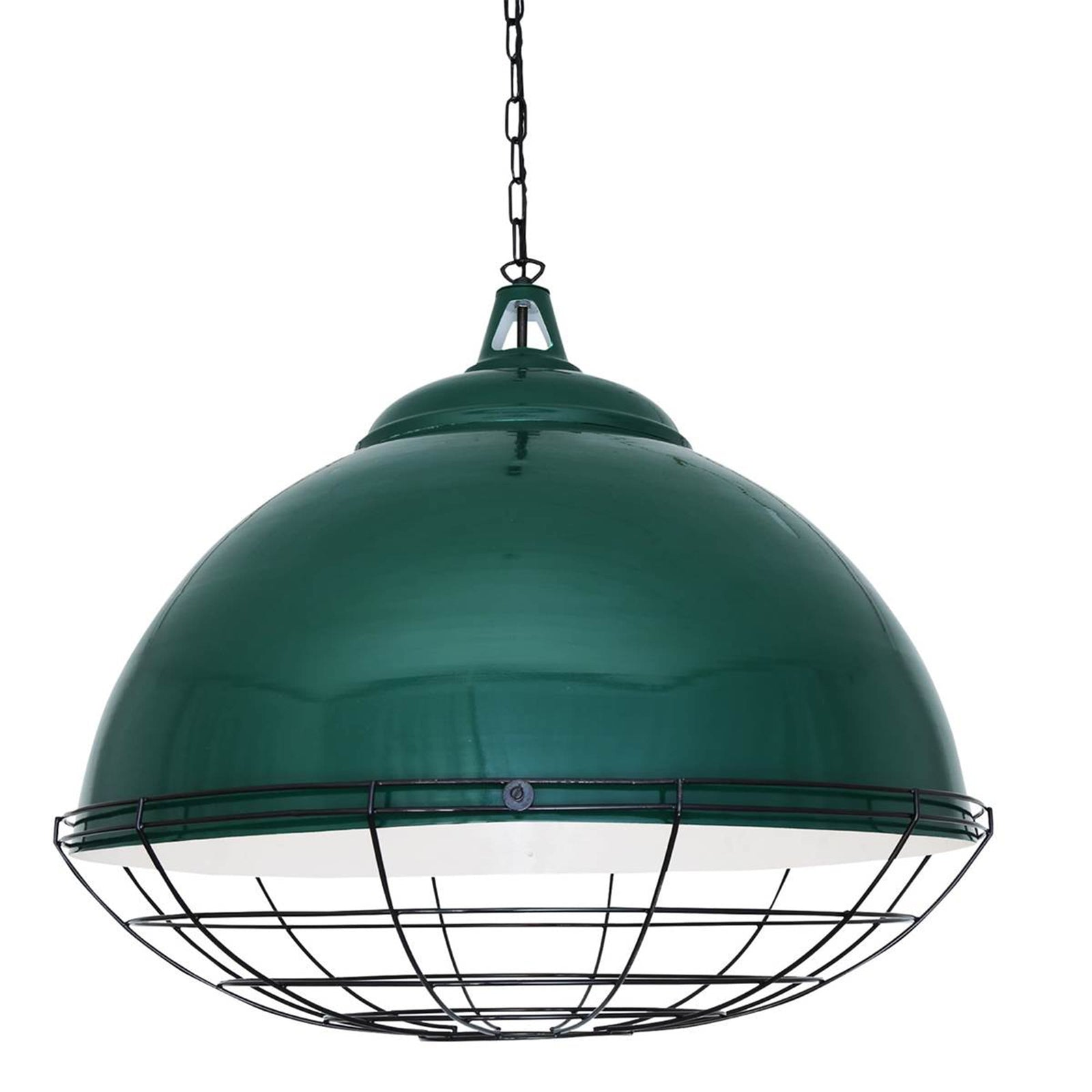 Mullan Lighting Lighting Racing Green Brussels Pendant