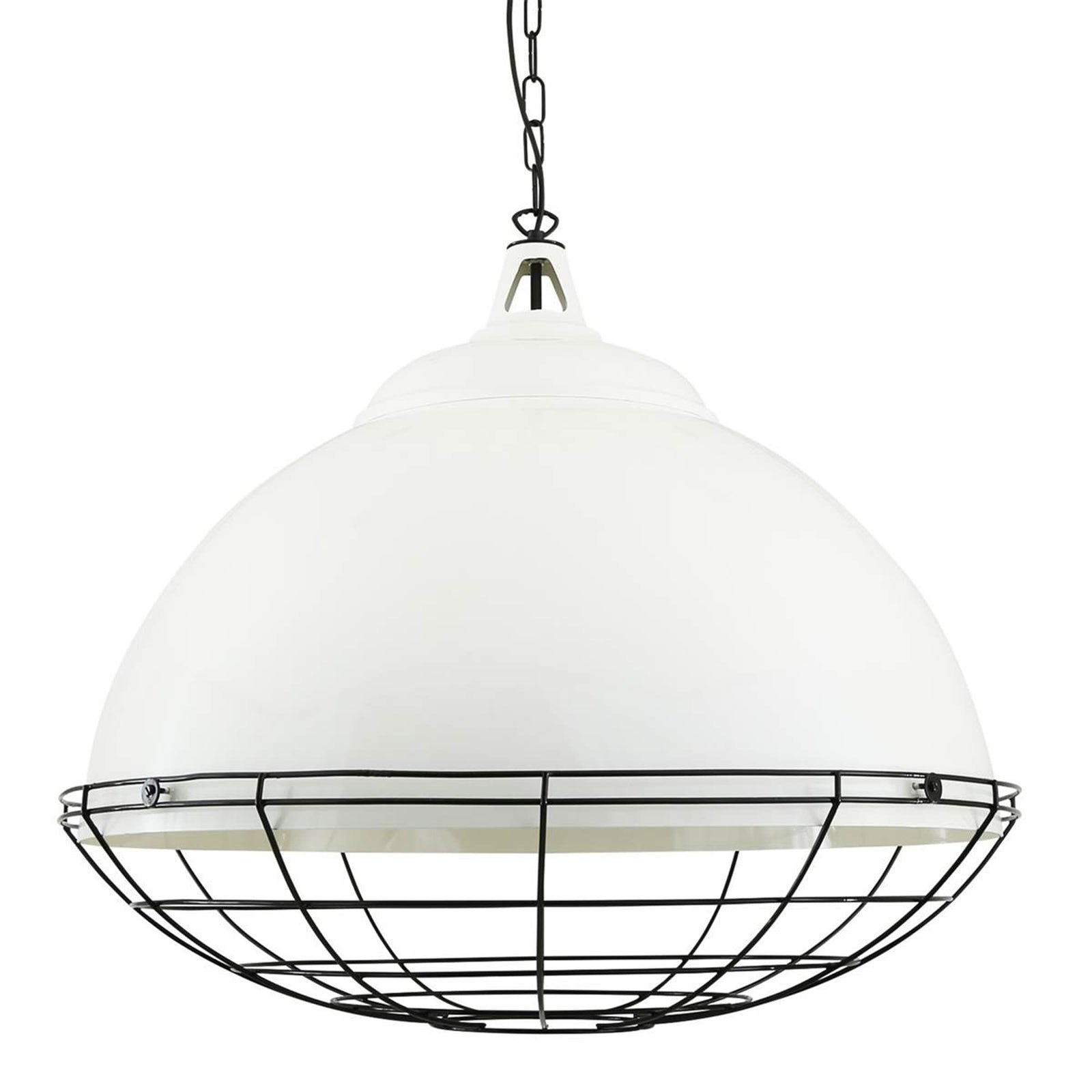 Mullan Lighting Lighting White Brussels Pendant