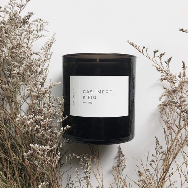 Lightwell Co. Candle Cashmere & Fig Black Tumbler Candle