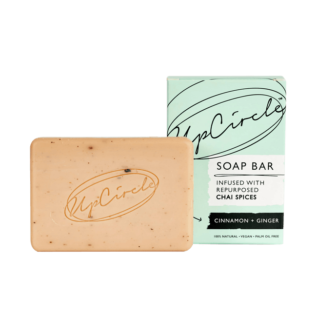 UpCircle Body Cinnamon and Ginger Chai Soap Bar