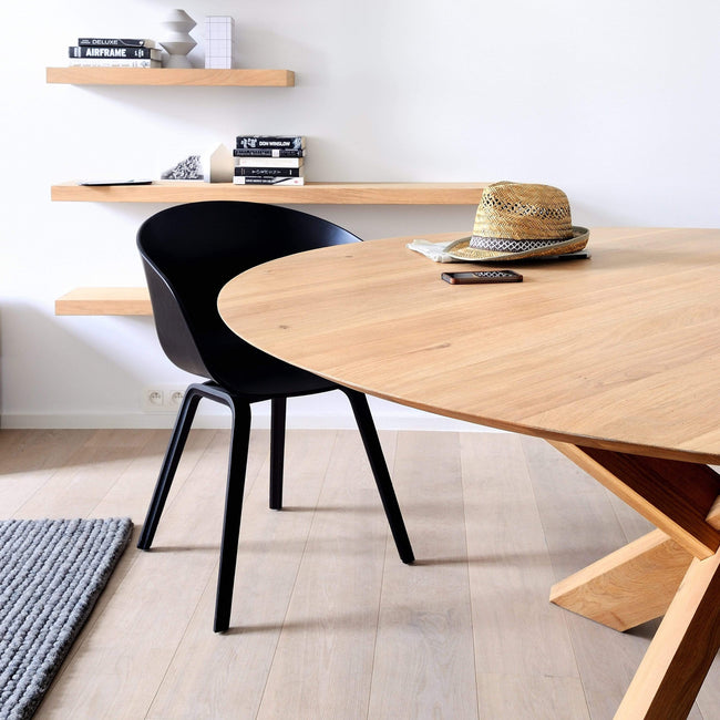 Ethnicraft Furniture Circle Dining Table