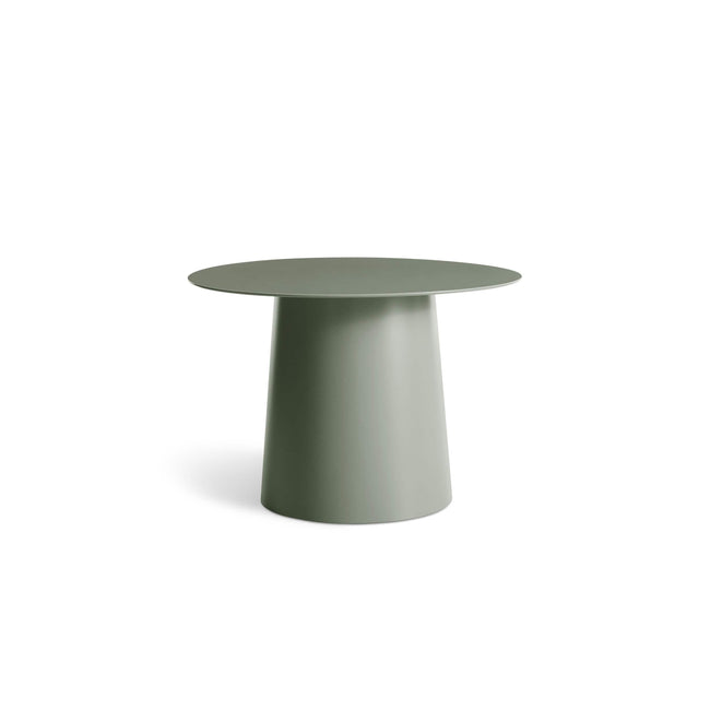 Blu Dot Furniture Grey Green Circula Low Side Table