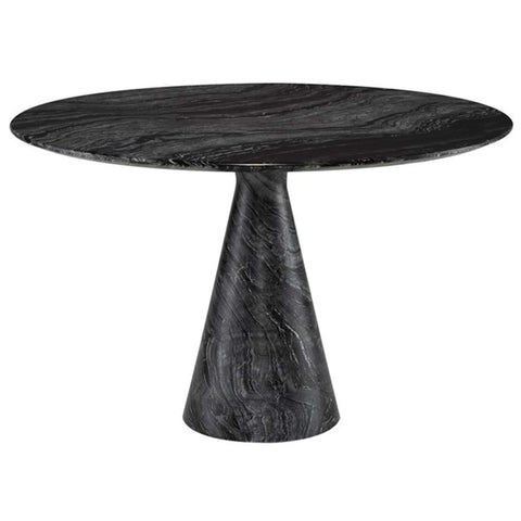 Black Oak Bok Dining Table