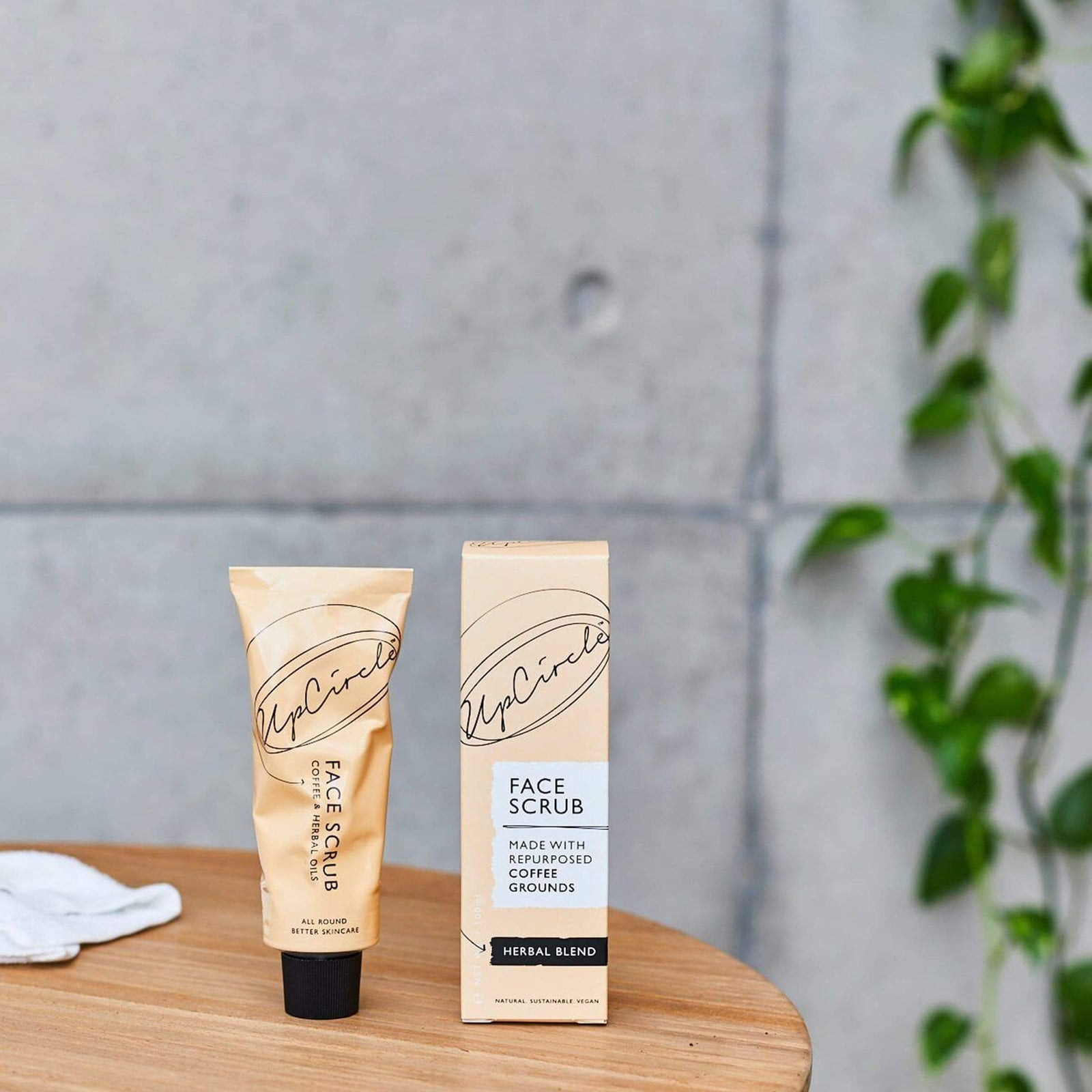 UpCircle Body Coffee Face Scrub