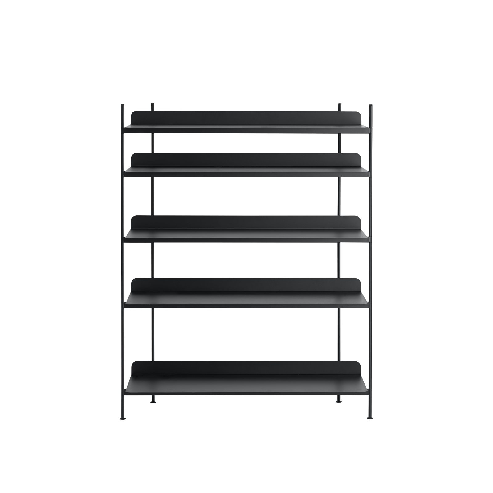 Muuto Furniture No. 3 / Black Compile Shelving System/Configuration