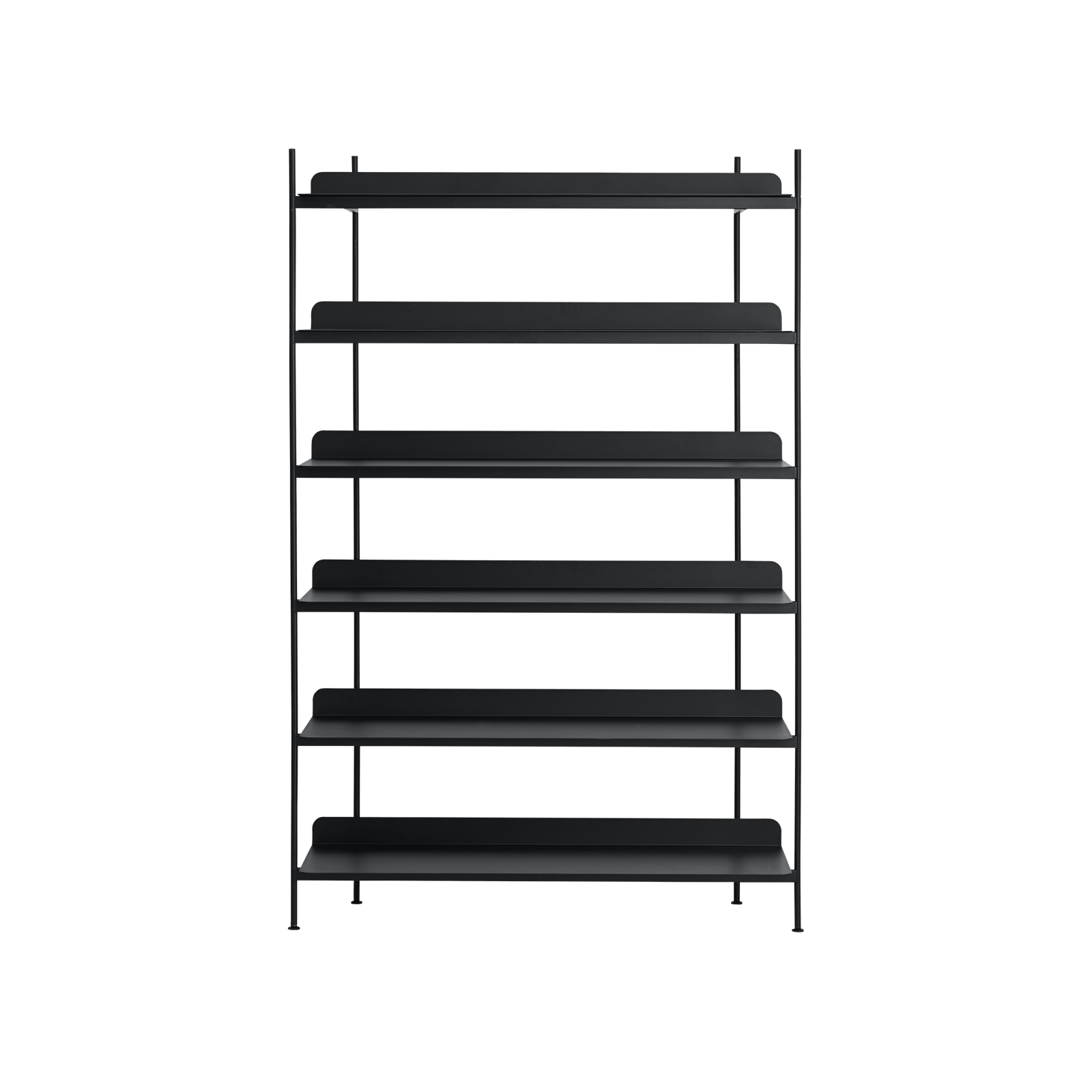 Muuto Furniture No. 4 / Black Compile Shelving System/Configuration