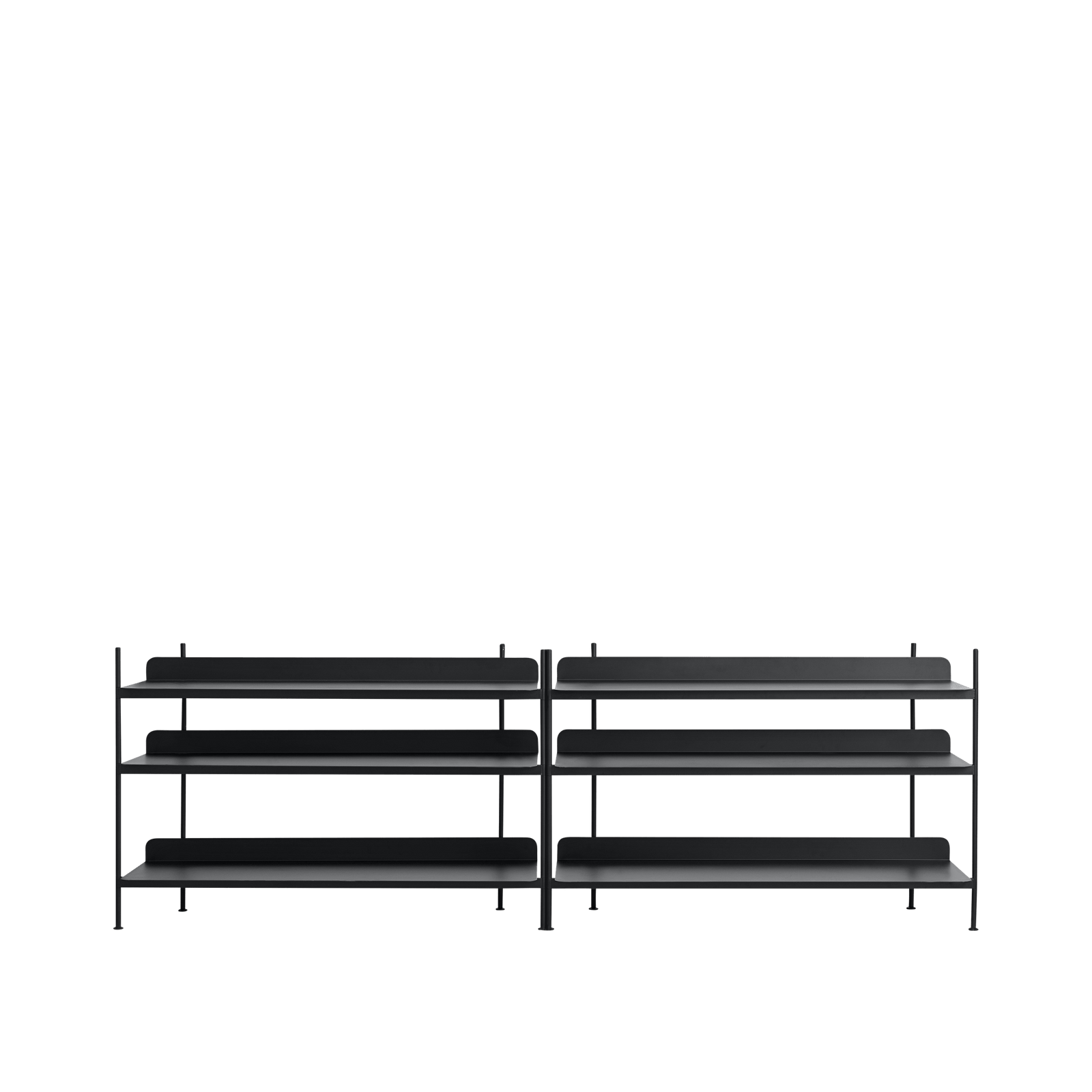 Muuto Furniture No. 6 / Black Compile Shelving System/Configuration