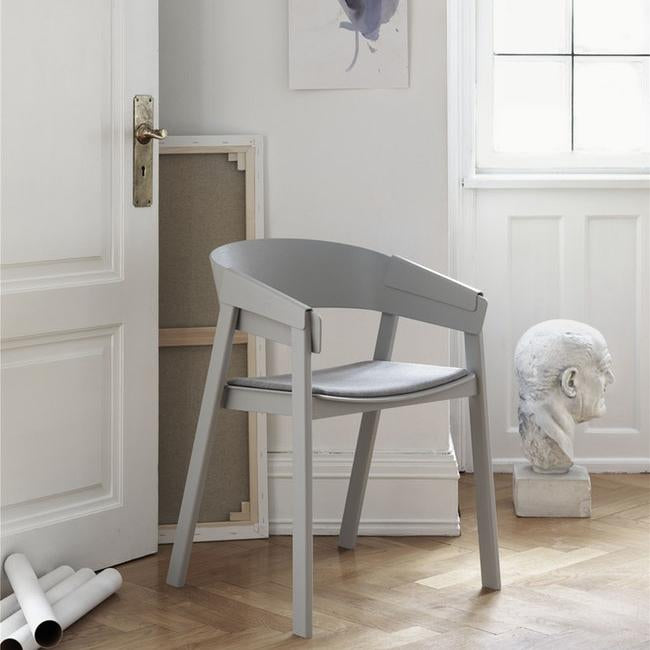Muuto Furniture Cover Chair - Textile Seat