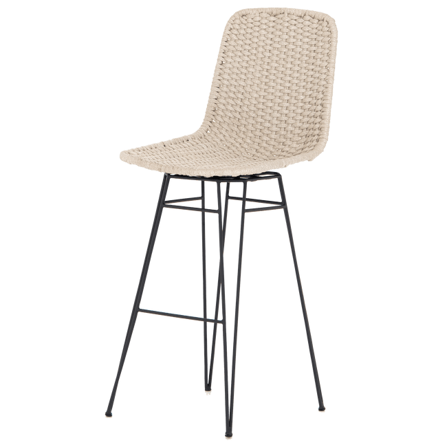 Four Hands Furniture Dema Outdoor Swivel Bar Stool