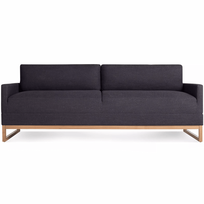 "Blu Dot Furniture Afton Grey Diplomat 80"" Sleeper Sofa"