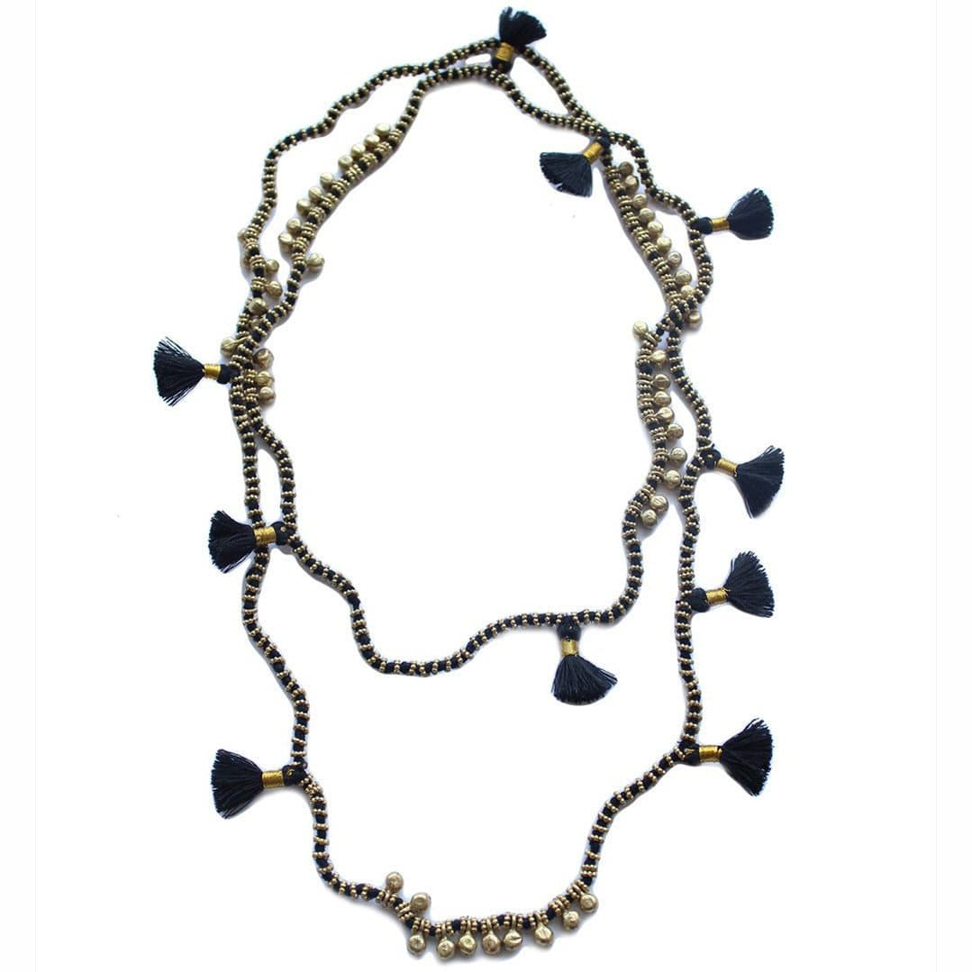 Bluma Project Jewelry Farah Necklace - Blue and Gray