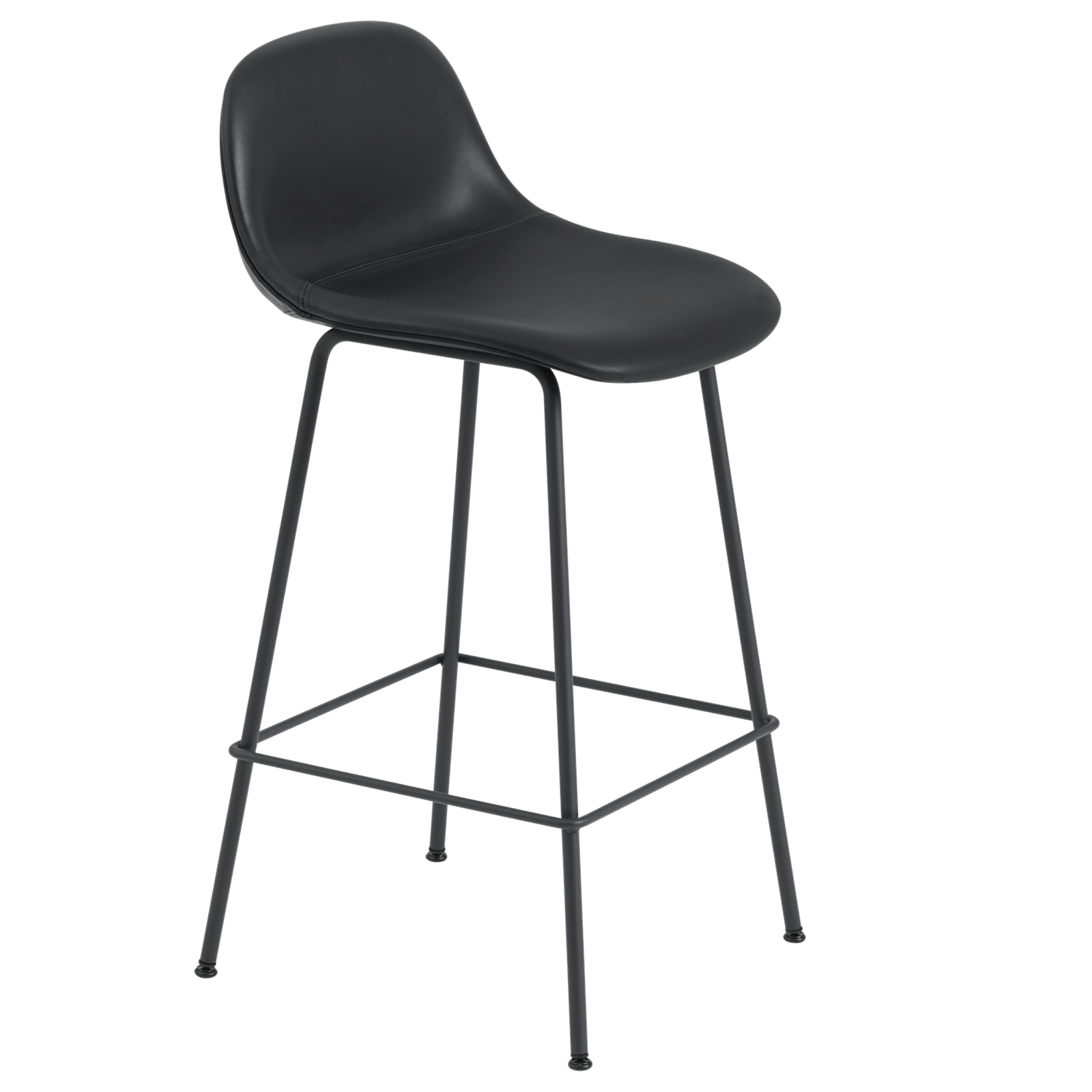 Muuto Furniture Black / Tube Fiber Counter Stool