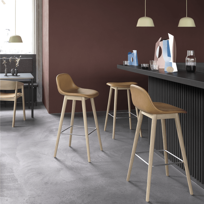 Muuto Furniture Fiber Counter Stool