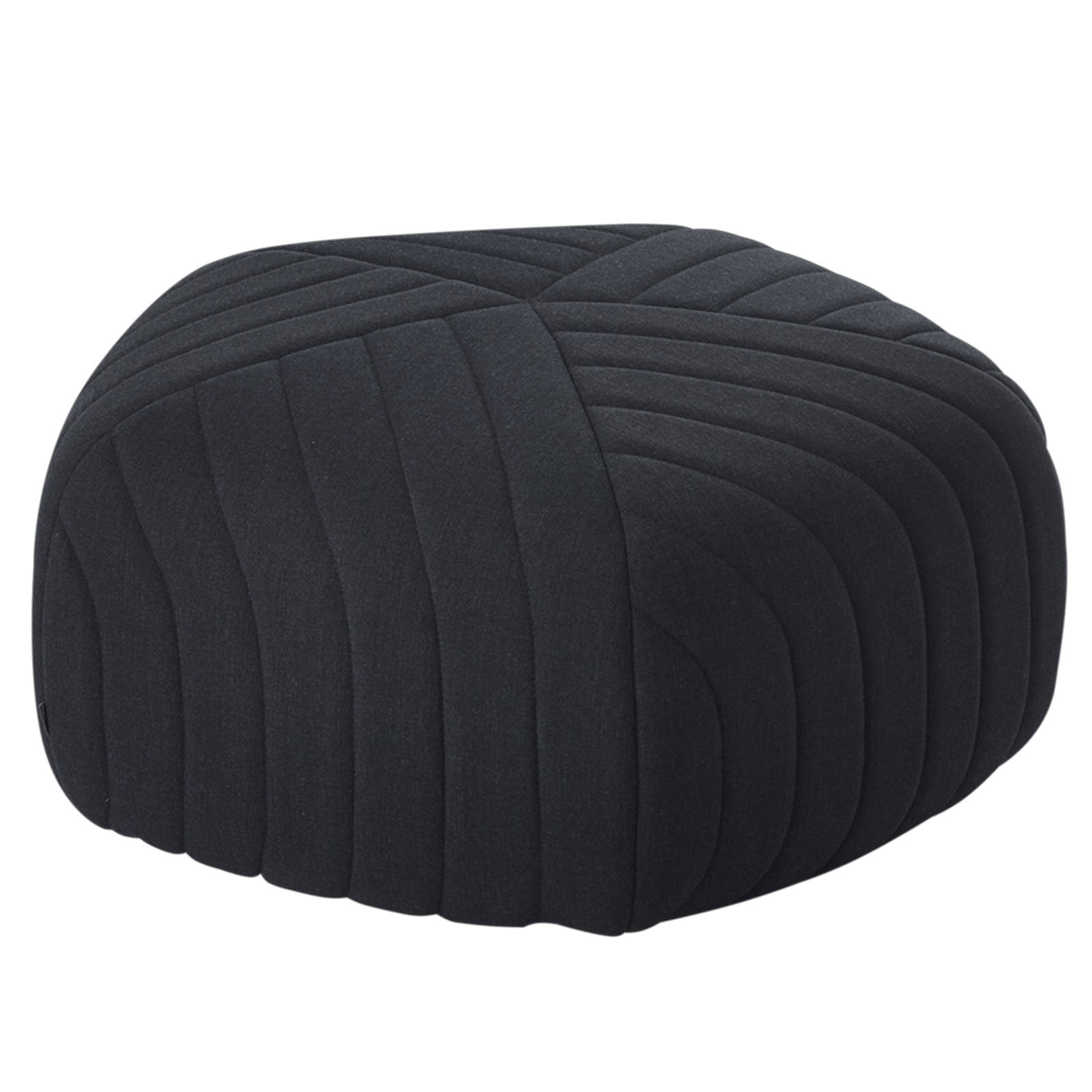 Muuto Furniture Dark Grey Five Pouf