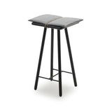 Skagerak Design Furniture Black Oak Georg Bar Stool, Low