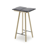 Skagerak Design Furniture Unfinished Oak Georg Bar Stool, Low