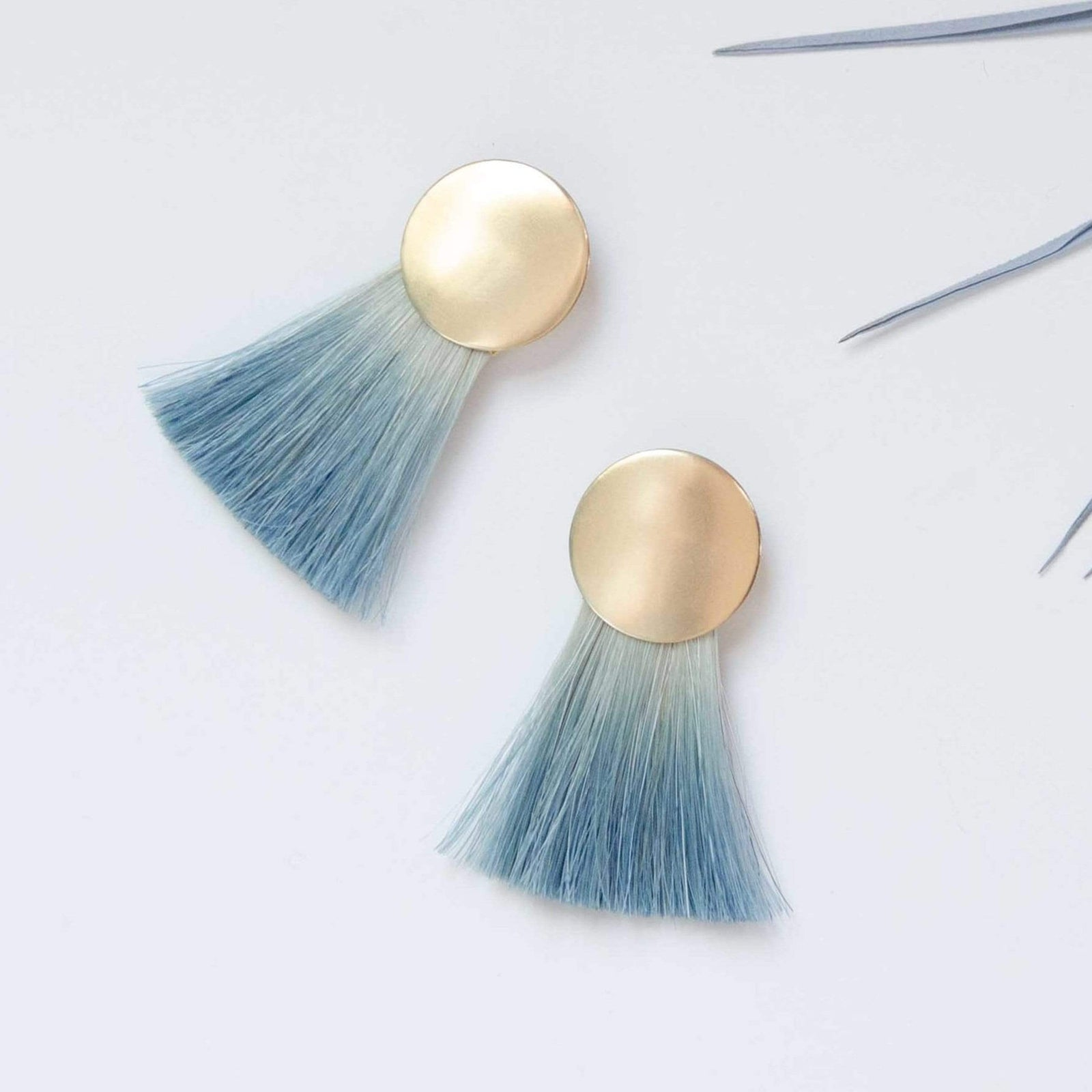 Anna Monet Jewelry Jewelry Indigo Golden Hours Sterling Silver Earrings