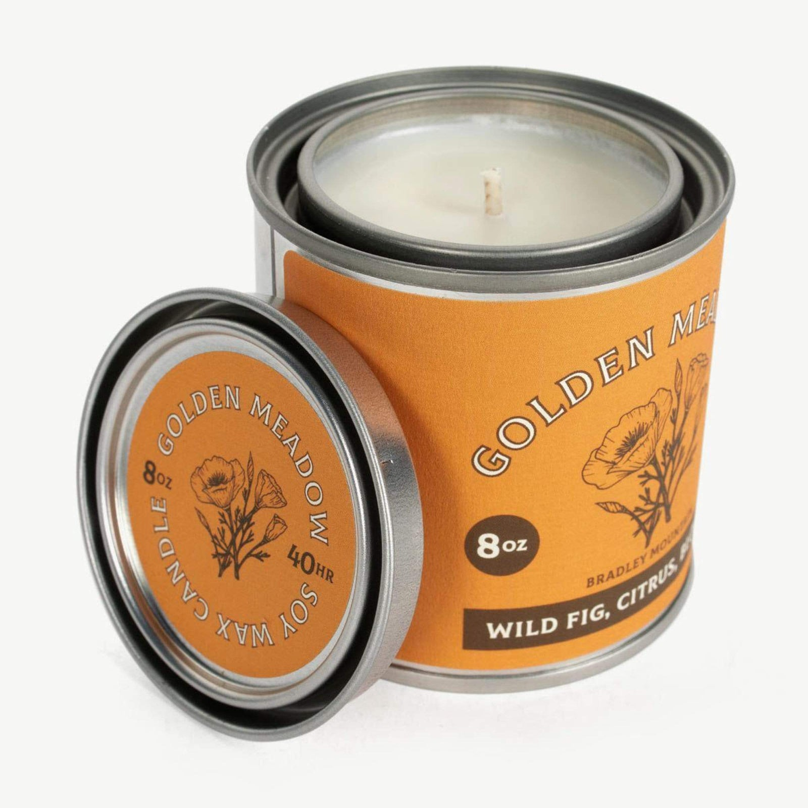 Bradley Mountain Golden Meadow Travel Candle