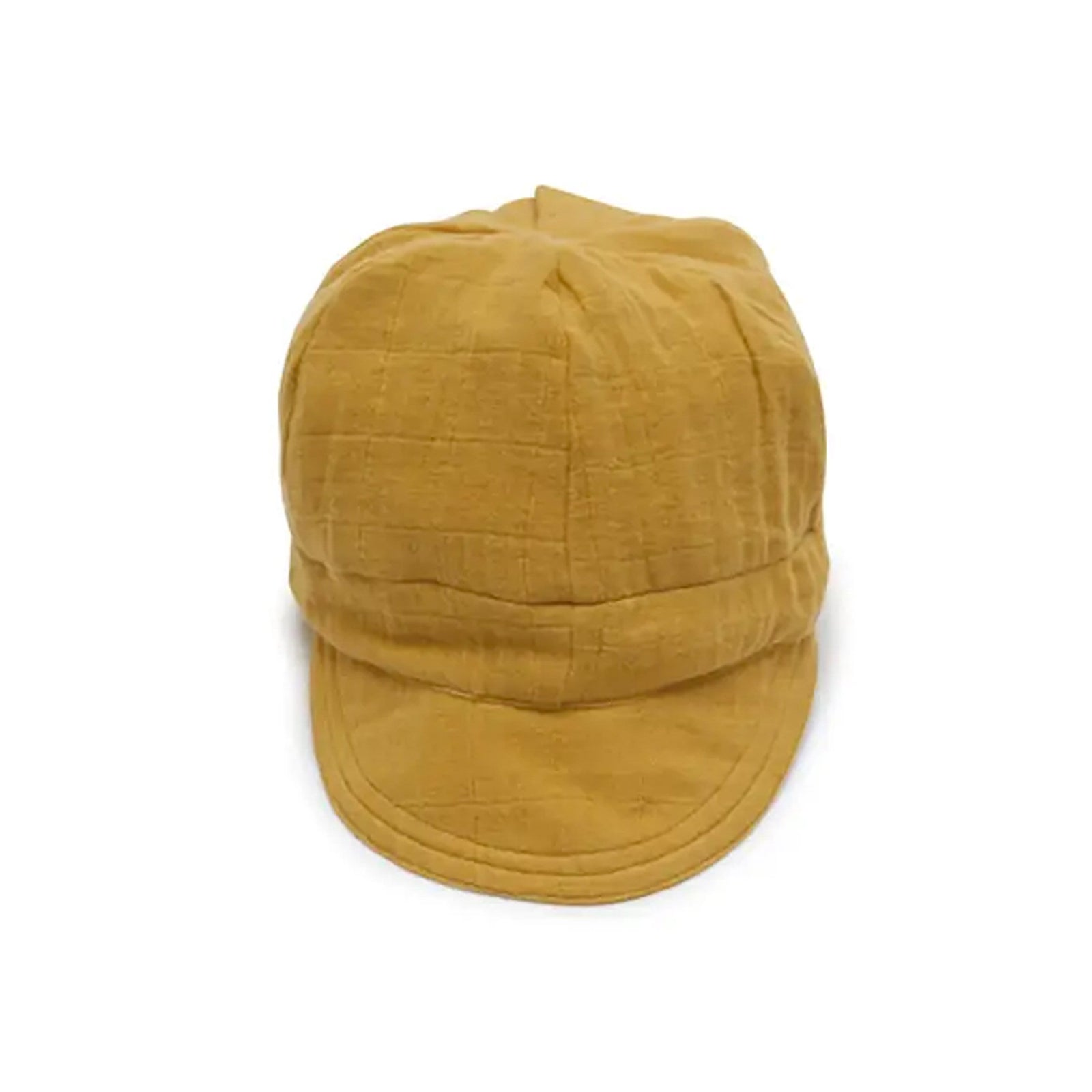 Ellie Fun Day Child Golden Mustard Newsboy Cap