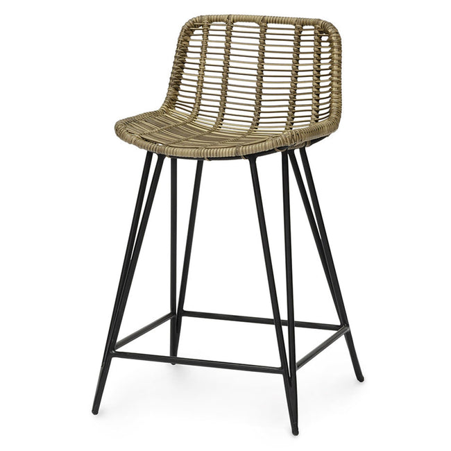 Palecek Furniture Natural Hermosa Outdoor Counter Stool