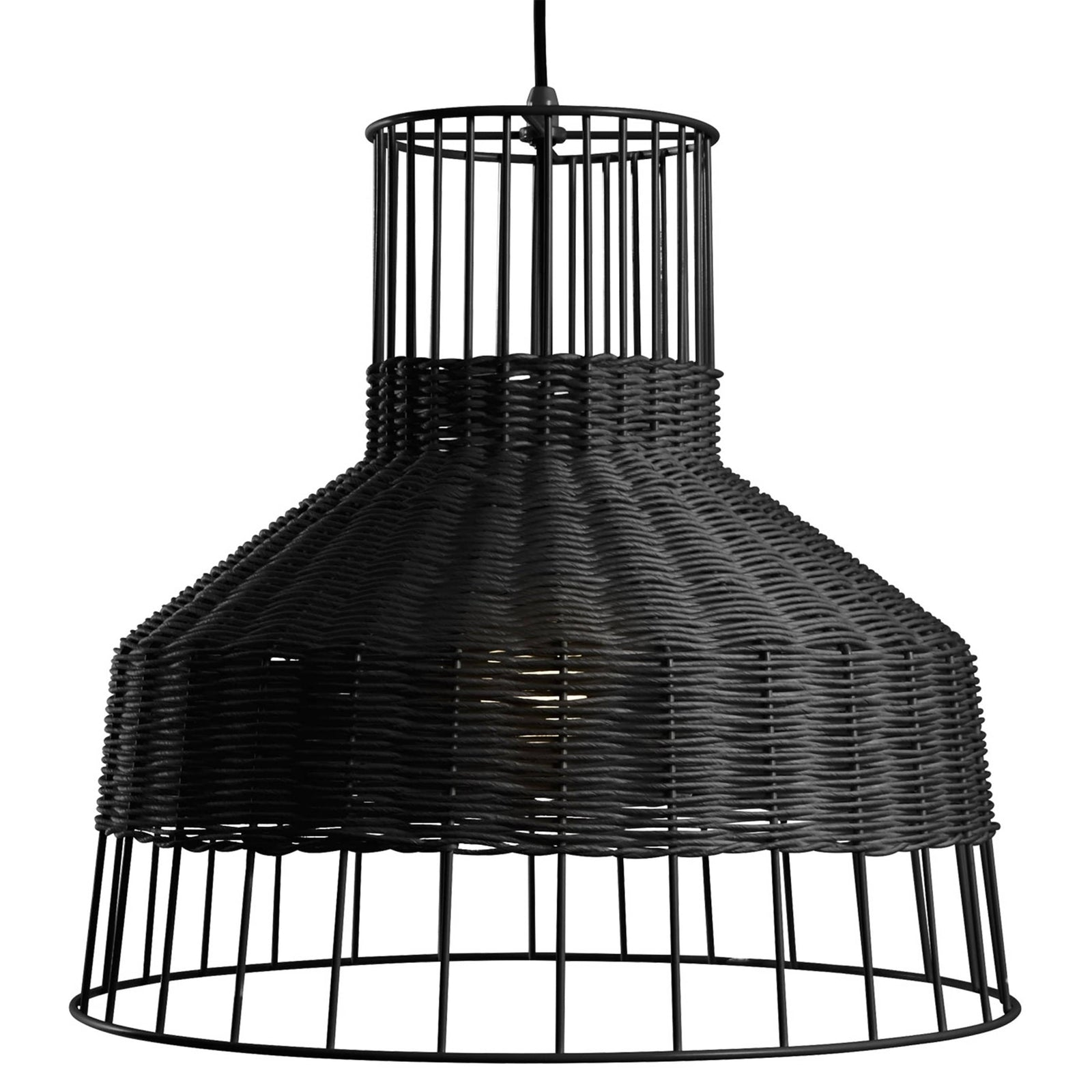 Blu Dot Lighting Black Laika Medium Pendant Light