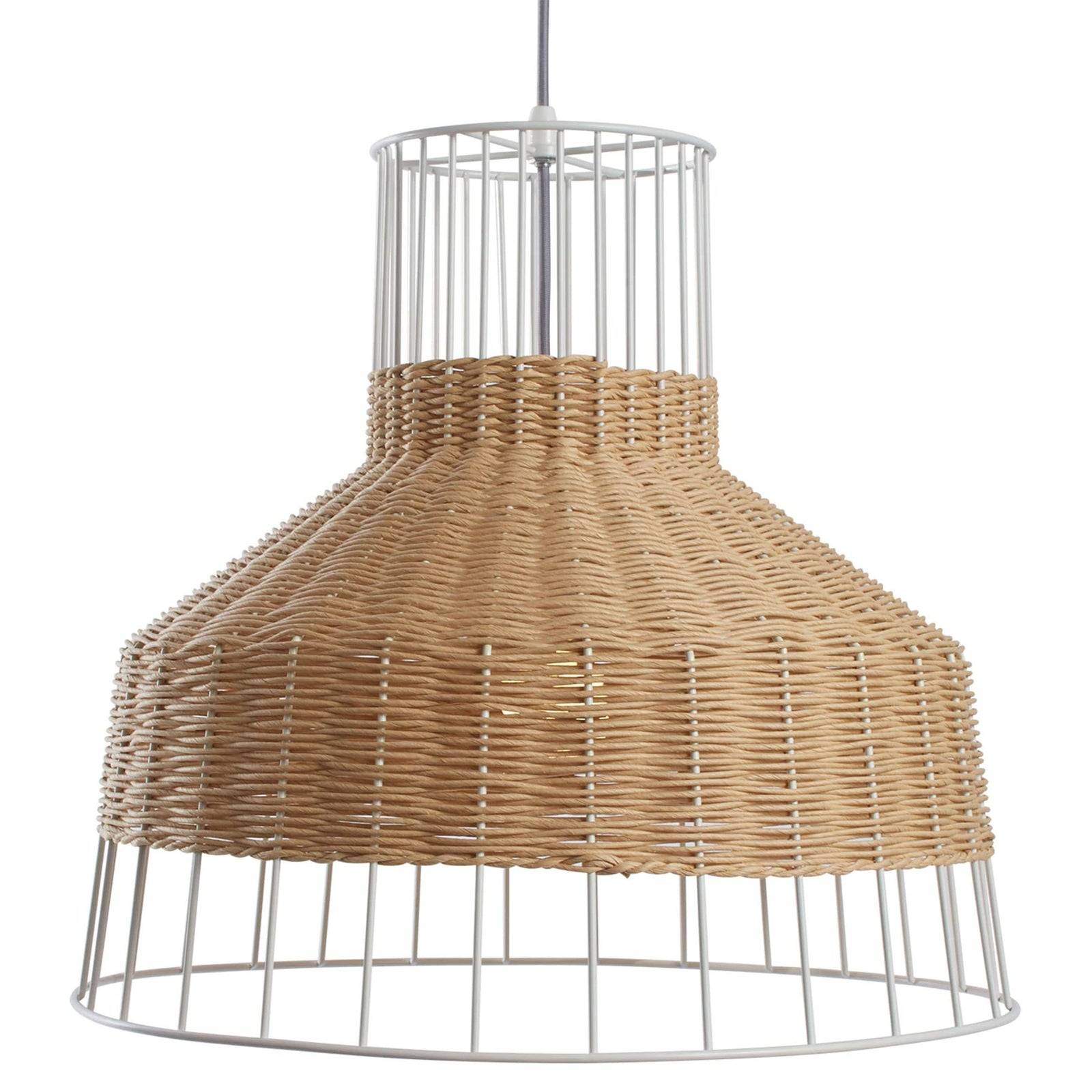 Blu Dot Lighting Natural Laika Medium Pendant Light