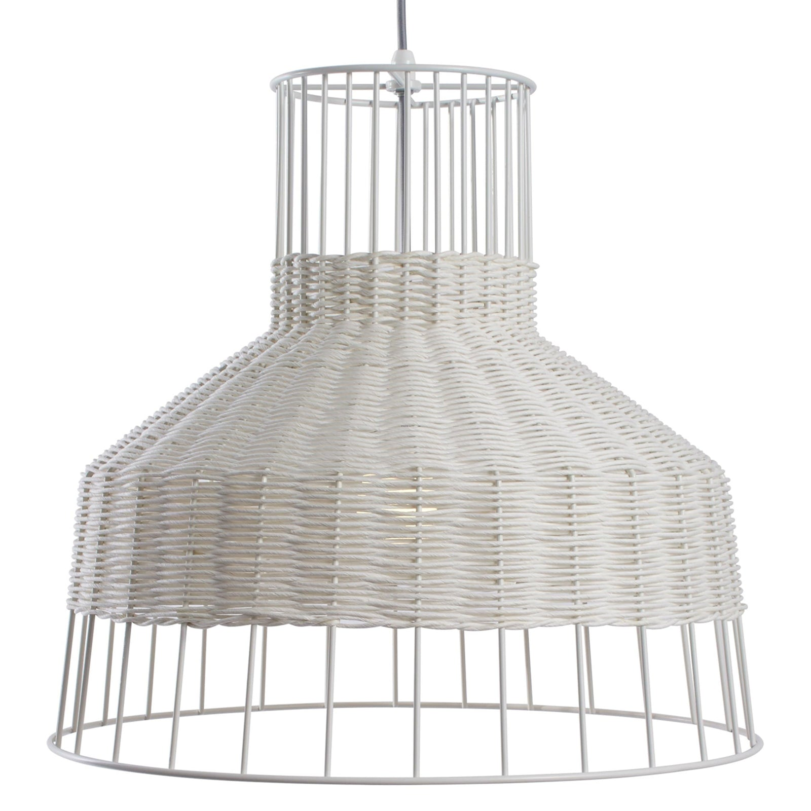 Blu Dot Lighting White Laika Medium Pendant Light