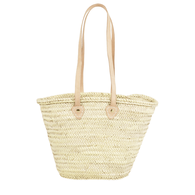 SOCCO WHOLESALE Purse Natural Lisbon Straw French Basket