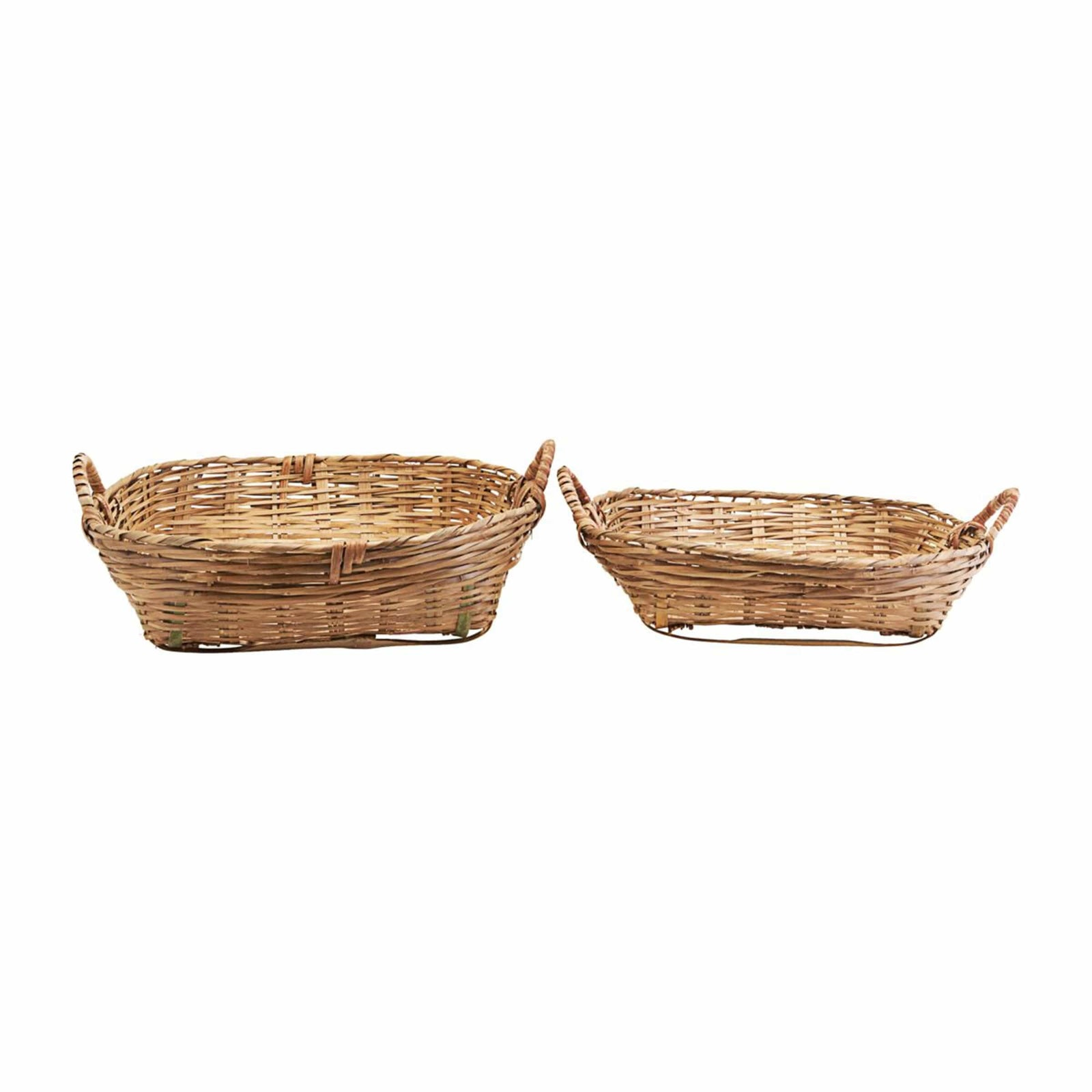 Meraki Basket Low Tradition Basket, Small