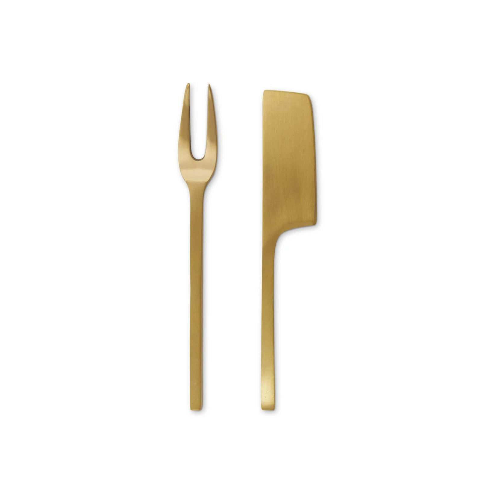 Magenta Magenta - Rae Dunn Heritage Brass Cheese Tools - Set of 2